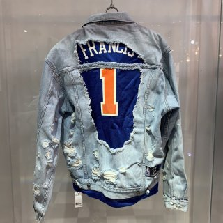 Civiatelier x PRINCIPE PRIVÉ Remake NBA Denim Jacket