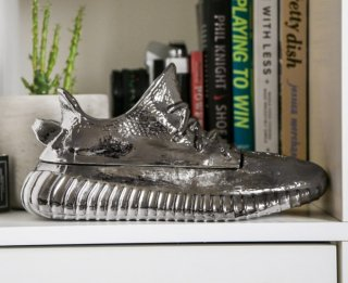 Sneaker Sculpture 001 (Silver)