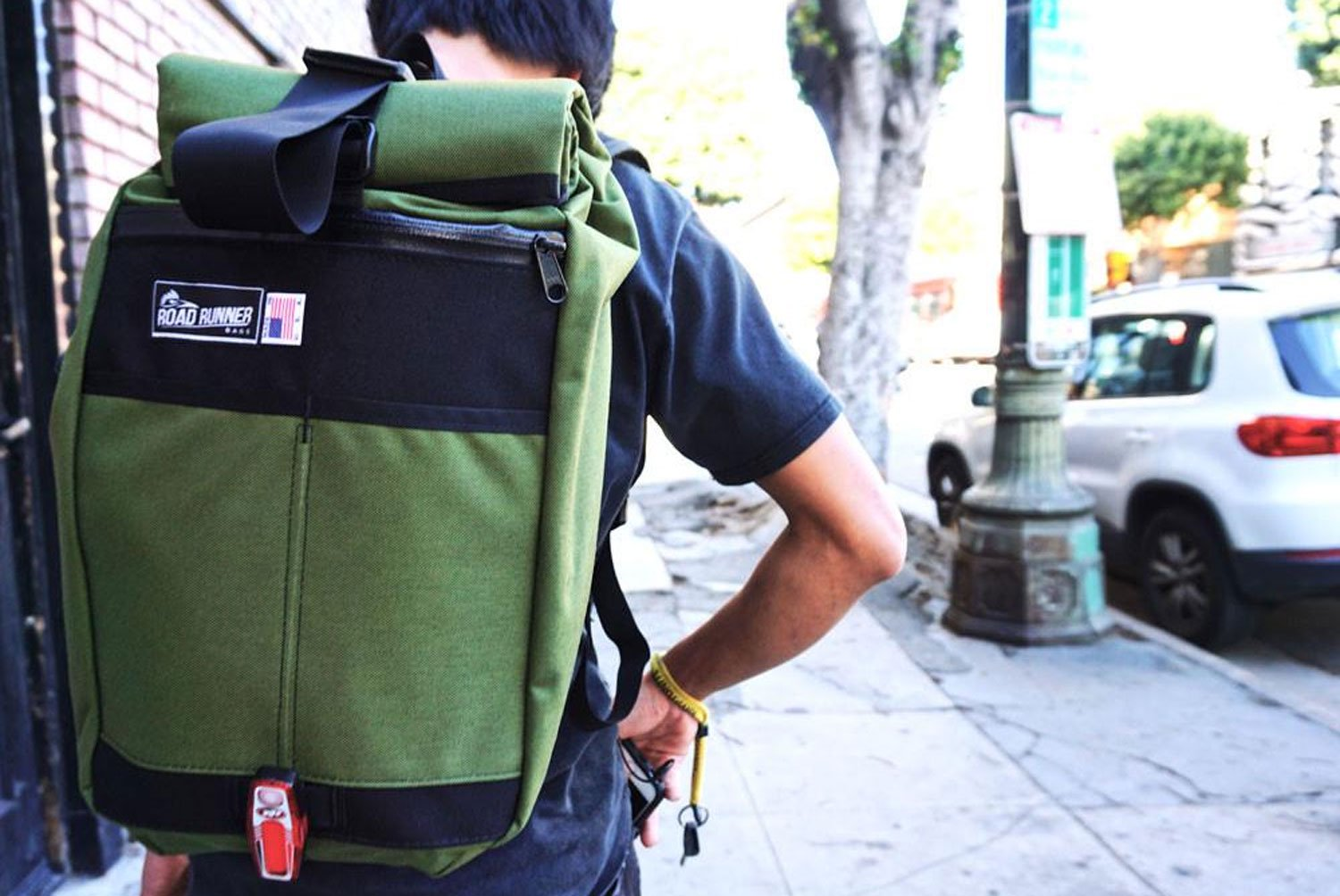 Small Roll Top Backpack  (スモールロールトップバッグ)