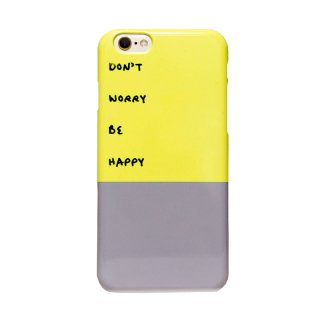 「Don't worry be happy」 | iPhoneケース | MIRROR