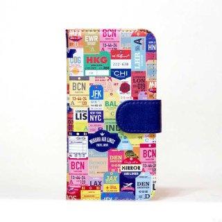 「33,000フィートに描いた夢」 | 手帳型iPhoneケース | MIRROR / Diary