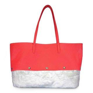 着せ替えトートバッグ「PIECE」Cherry (TOP) × Marshmallow (BOTTOM) 限定色モデル