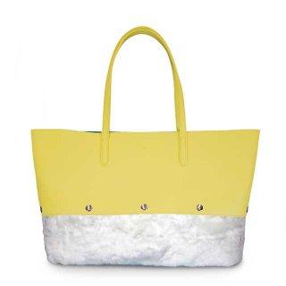 着せ替えトートバッグ「PIECE」Grapefruits (TOP) × Marshmallow (BOTTOM) 限定色モデル