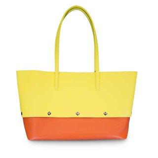 着せ替えトートバッグ「PIECE」Grapefruits (TOP) × Pumpkin (BOTTOM) 限定色モデル