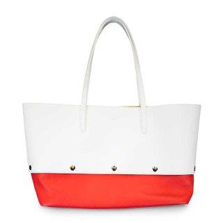 着せ替えトートバッグ「PIECE」Milk (TOP) ×Cherry (BOTTOM)  限定色モデル