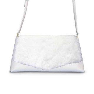 着せ替えショルダーバッグ「CHIPS」Marshmallow (FLAP) × Milk (BASE)