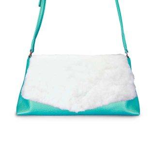 着せ替えショルダーバッグ「CHIPS」Marshmallow (FLAP) × Appletini (BASE)  限定色モデル