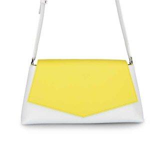 着せ替えショルダーバッグ「CHIPS」Grapefruits (FLAP) × Milk (BASE) 限定色モデル