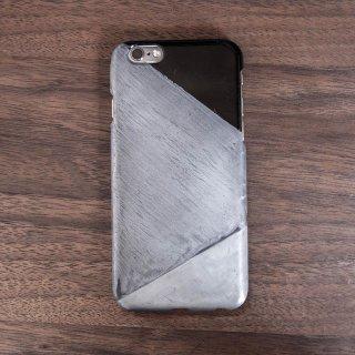 サンプル品「金属加工iPhone 6/6sケース - type 2」ハンドメイド