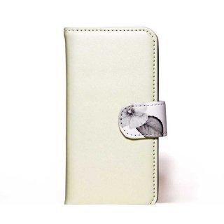 「ボタニカル(ホワイトベージュ)」 | 手帳型iPhoneケース | Plan bシリーズ