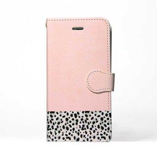 「Pink x Animal」 | 手帳型iPhoneケース | Plan bシリーズ