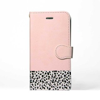 「Pink x Animal」 | 手帳型iPhoneケース | Plan bシリーズ<img class='new_mark_img2' src='https://img.shop-pro.jp/img/new/icons8.gif' style='border:none;display:inline;margin:0px;padding:0px;width:auto;' />