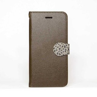 「Brown x Animal」 | 手帳型iPhoneケース | Plan bシリーズ