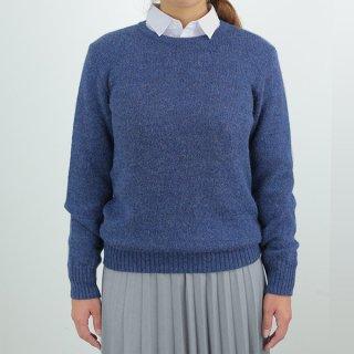 レディース ベビーアルパカ ベーシックセーター(クルーネック) 全3色