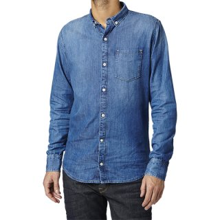 -PEPE MEN'S DENIM SHIRT