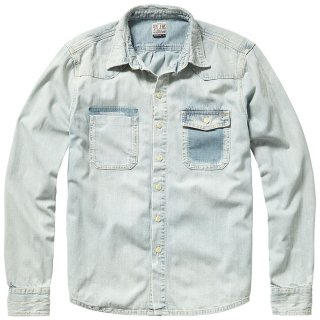 -PEPE MAIN MEN'S DENIM L/S SHIRT