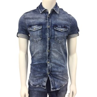 -PEPE MEN'S JAPAN LIMITD DENIM SHIRTS
