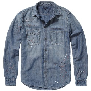 PRE MEN'S DENIM SHIRT