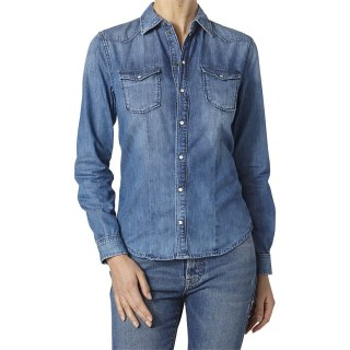 PEPE LADY'S DENIM L/S SHIRT