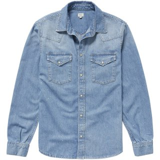 PEPE MAIN MEN'S DENIM SHIRT
