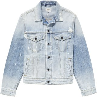 PEPE MAIN MEN'S DENIM JACKET
