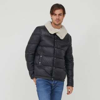 MEN'S JACKET 8923-CANADIENNE | NOIR