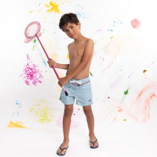 KID'S SWIM WEAR 9940-BIARRITZ | BLEU CIEL