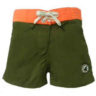 KID'S SWIM WEAR 7937-BAYONNE | KAKI/ ORANGE FLUO