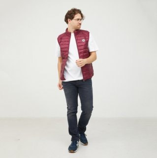 MEN'S VEST 1900-TOM | AUBERGINE
