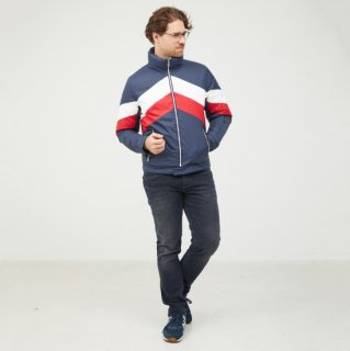 MEN'S REVERSIBLE JACKET 1902-MACAO | MARINE