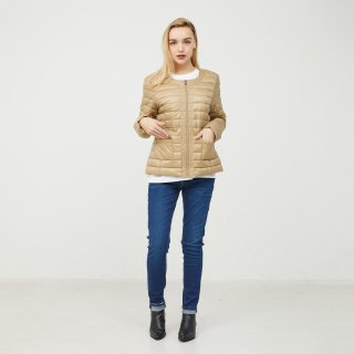 LADY'S JACKET 1900-DOUDA | BEIGE