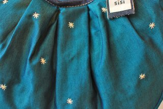 刺繍(青) ミニグラニー