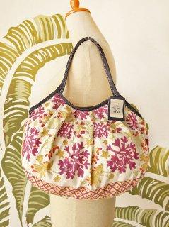 珊瑚(ホワイト)裾柄あり 定番サイズ
