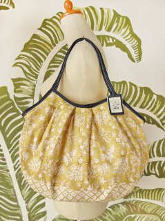 珊瑚(ハニーイエロー)裾柄あり 120%ビッグサイズ