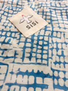 【ご予約商品:お届けは10月10日(土)前後の予定です】あづま袋 定番サイズ 水色格子 AZ-20-08