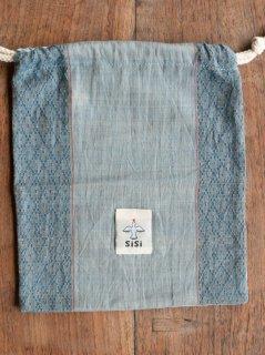 【ご予約商品:お届けは10月10日(土)前後の予定です】バリ島の草木染め巾着 TK-TRM-04