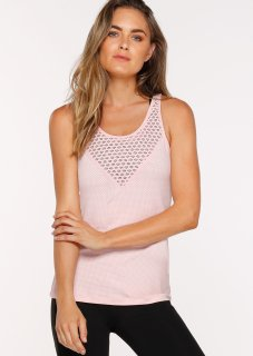 ☆New☆LORNA JANE(ローナジェーン)Sweat It Out Excel Tank Pink/スウェット イット アウト エクセルタンク ピンク