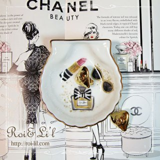 転写紙 『Paris chic パリシック』 白磁 陶芸 焼成用 A4サイズ【Roi&Li'l】ポーセリンアート