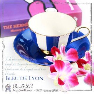 転写紙 『Bleu de Lyon/ブルー ドゥ リヨン (単色 ブルー系)』 白磁 陶芸 焼成用 A3サイズ【Roi&Li'l】ポーセリンアート