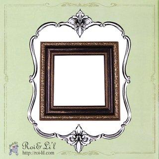 15cmタイル専用フレーム『アンティーク調フレーム』【Roi&Li'l】ポーセリンアート