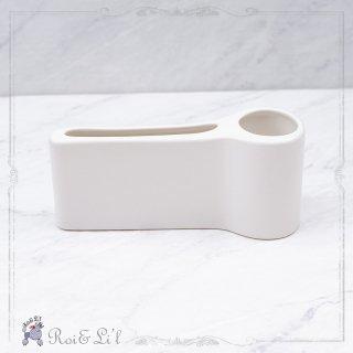 白磁 『メモ&ペン立て』