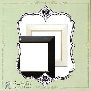 20cmタイル専用フレーム『スクエア・シリーズ』【Roi&Li'l】ポーセリンアート