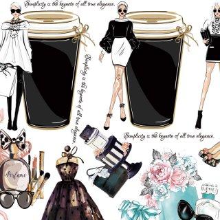 インテリアタイルアート転写紙 『ファッションタイルアート ver.2』 A3