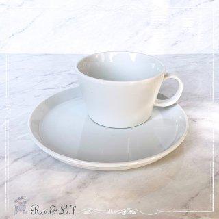 白磁『シリアルカップ&プレート』