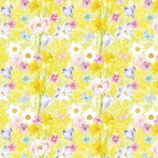 転写紙 『Mimosa Garden - ミモザガーデン』 A3