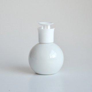 白磁 『ラウンド クリーナープッシュボトル』