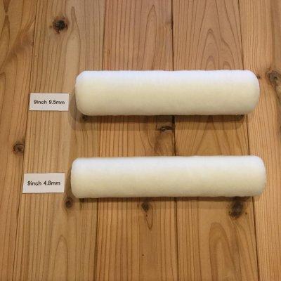 """BMローラー """"shed-resistant"""" 4.8mm 650円(税抜)・9.5mm 690円(税抜)"""