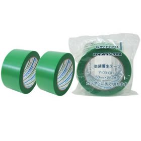 ダイヤテックスパイオランテープY-09-GR 50mm  (1巻/390円 30巻入/11,650円)