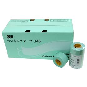 3Mマスキングテープ�343   30mm/18m  (1巻/100円  40巻入/3,400円)