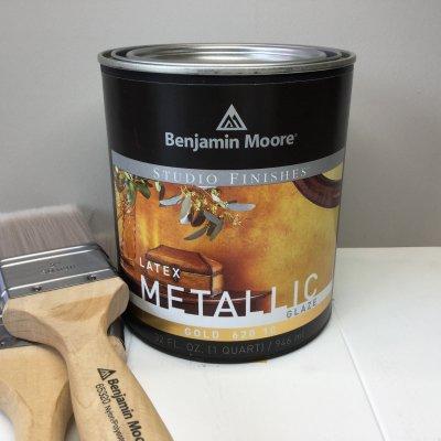 Metallic Gold 620-10 BMP-20 ベンジャミンムーア